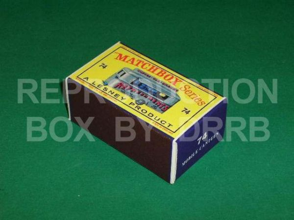 Matchbox 1-75 #74 Mobile Canteen - Reproduction Box